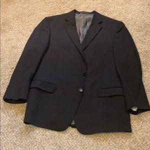 Hart Scaffner Marx black blazer 48R